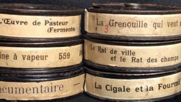 Cassettes de film 9,5 mm pour projecteur Pathé-Baby