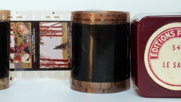 Boîtes de bobineaux Filmostat et ODF pour projecteurs de vues fixes